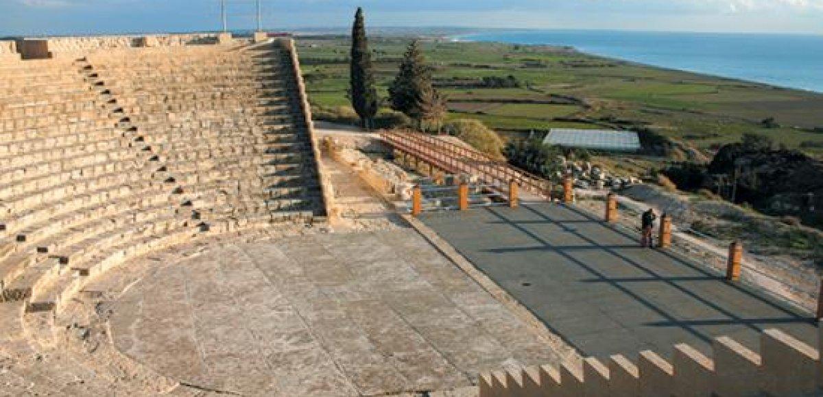 De oude stad Kourion