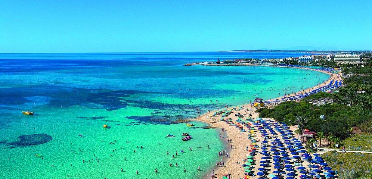 Top-5 stranden van Cyprus
